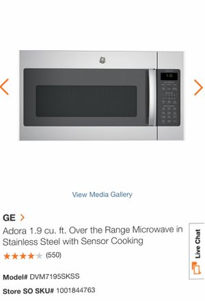 GE Microwave for Sale in Melrose Park, IL