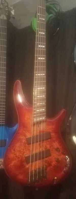 Bass guitar Ibanez srms805 for Sale in Sunnyvale, CA