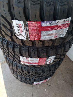 Tires 35X12.50R22 for Sale in El Paso, TX
