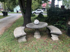 Concrete patio, outside furniture for Sale in Murfreesboro, TN