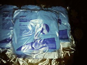 "7"" Blue Nitrile Disposable Gloves Medium 7-7.5 for Sale in Fort Wayne, IN"