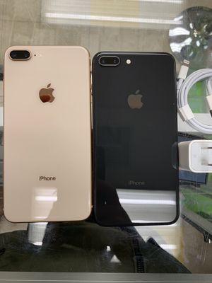 Factory Unlocked Apple iPhone 8 plus,64 gb Sold with warranty for Sale in Somerville, MA