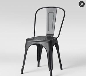 Black Metal Farmhouse Chairs for Sale in Dublin, OH