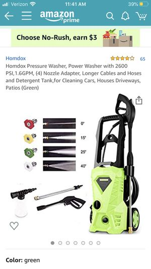 Homodox pressure washer for Sale in Bakersfield, CA