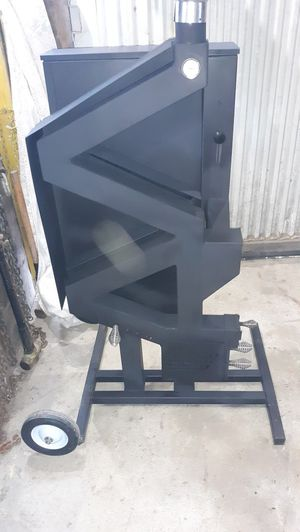Wood pellet stove gravity fed u.s. made for Sale in Pine City, NY