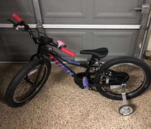 Trek 20 inch bike ..lightly used...perfect condition for Sale in Spring, TX