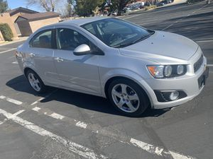 2015 CHEVY SONIC LTZ for Sale in Palmdale, CA