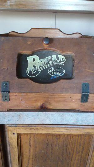 bread storage wooden container for Sale in San Antonio, TX