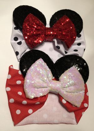 Babies/Child Mouse Ears Headband for Sale in St. Petersburg, FL