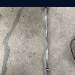 Exercise Curl Bar for Sale in San Antonio, TX