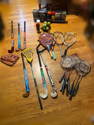 CHEAP SPORTS EQUIPMENT - SELLING! willing to negotiate individual items also SWIPE 👀 AVAILABILITY for Sale in Stamford, CT