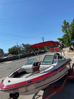 Super clean fast 150 hp 1989 Searay boat with trailer for Sale in Anaheim, CA