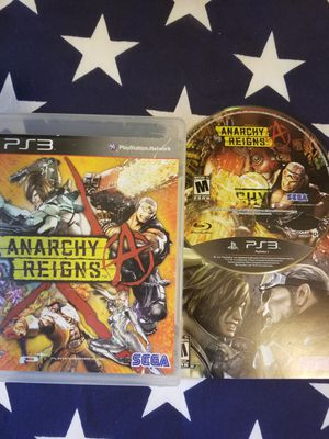 Anarchy Reigns (PS3) for Sale in US
