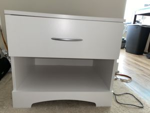 White night stand for Sale in McLean, VA