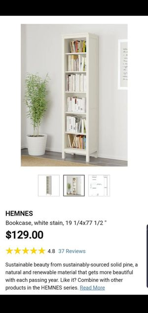 Two IKEA White Bookshelves for Sale in Boynton Beach, FL