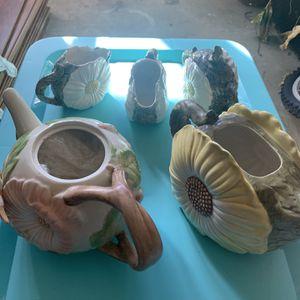 Antique Flower Tea Set for Sale in Lawrenceville, GA