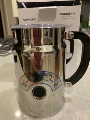 Nespresso Aeroccino Milk Frother for Sale in Issaquah, WA