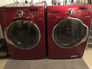 Samsung washer and dryer for Sale in Fairfax, VA