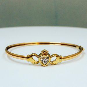 10k Gold Claddagh Bracelet for Sale in Hartford, CT