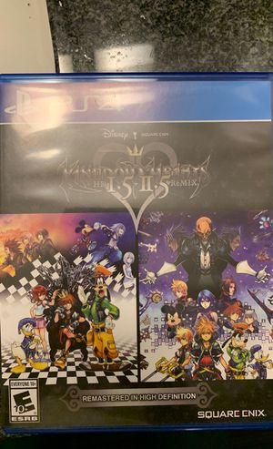 KINGDOM HEARTS 1 AND 2 PS4 for Sale in Tempe, AZ