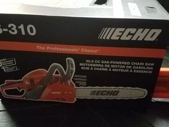 "Echo chainsaw 14"" for Sale in Houston,  TX"
