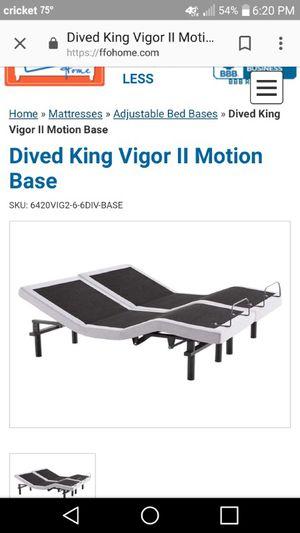 King size adjustable adjustable bed for Sale in Ada, OK