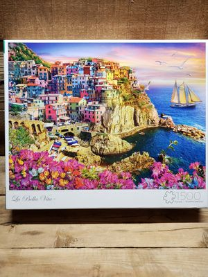 """Buffalo games """"La Bella Vita"""" 1500 pc puzzle for Sale in Indianapolis, IN"""