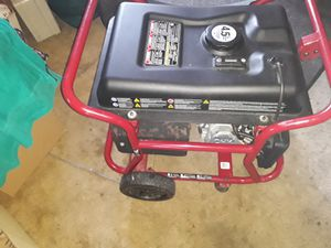 Brand new 34 4250 Max output gas-powered generator 30 amp RV ready for Sale in Dublin, OH