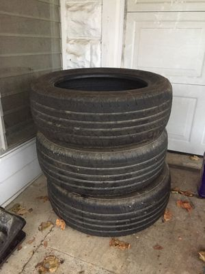(3) 225/55/18 Tires for Sale in Williamsport, PA