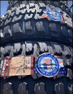 """24"""" Federal Couragia M/T Tires Mud Terrain Tires BRAND NEW IN STOCK!!! Size 40 x 15.50R24 .....$249 Ea for Sale in La Habra Heights, CA"""