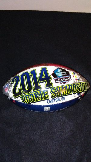 2014 rookie Symposium NFL football for Sale in Cleveland, OH