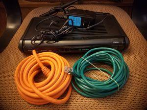 Centrylink actiontec c1900a good modem for Sale in Phoenix, AZ