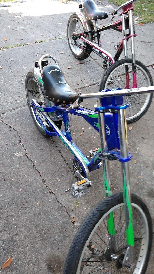 Orange county chopper bike