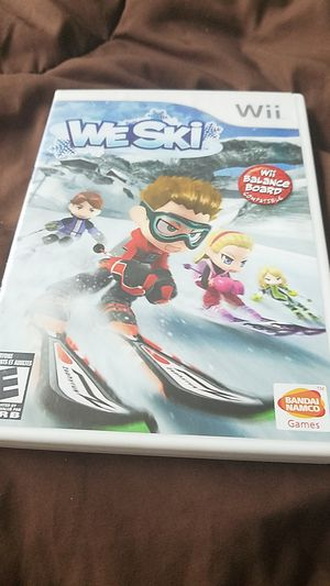 WeSki wii game for Sale in Everett, WA