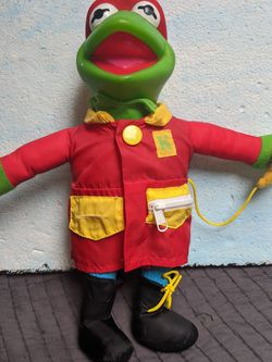 Vintage Kermit The Frog Doll Figure Learn The Muppets for Sale in Portland,  OR