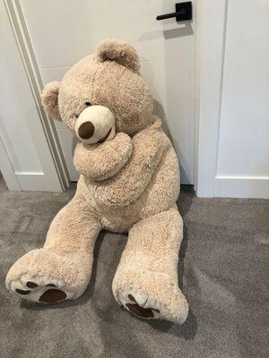 5ft sided teddy bear ! for Sale in Mercer Island, WA