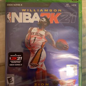 NBA 2K21 Xbox Series X Brand New Sealed *FAST SHIPPING* for Sale in Coventry, RI