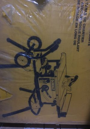 Dewalt table saw bran new never used only pickup for Sale in Boston, MA