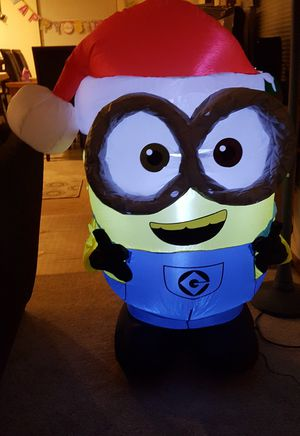 Minion inflatable Christmas for Sale in Renton, WA