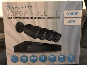 AMCREST security cameras for Sale in Torrance, CA