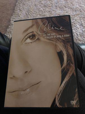 Celine dion dvd for Sale in Sloughhouse, CA