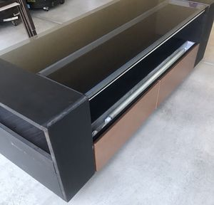 TV Stand / Entertainment Center with Light for Sale in North Las Vegas, NV