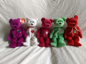 Beanie Babies: Five Bears for Five Dollars for Sale in Seattle, WA