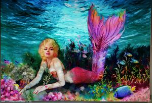 Mermaid prints. By Gypsea...custom art...I can paint you into a mermaid...or your little girl!!!! for Sale in Manassas, VA