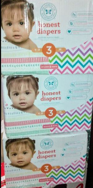 Honest brand size 3/68 count boxes for Sale in Los Angeles, CA