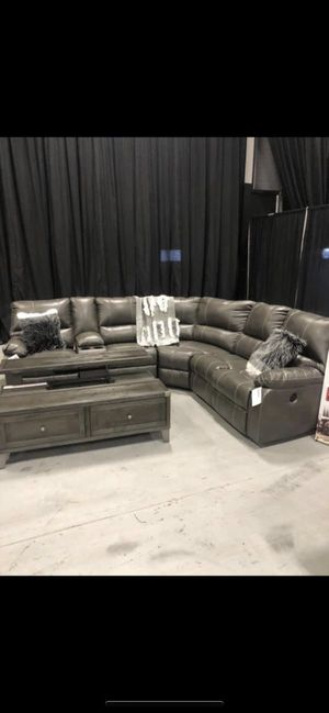 Power Reclining sectional on sale @ Alex Furniture for Sale in Queens, NY