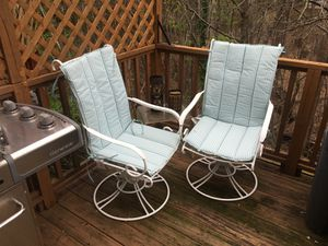 2 patio chairs for Sale in Alexandria, VA