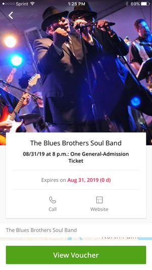 Blues Brothers concert ticket for Sale in Hobe Sound, FL
