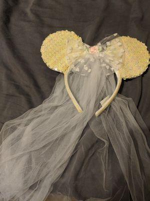 Bride Mickey Ears for Sale in Apopka, FL