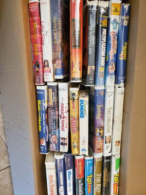 DISNEY AND FAMILY VHS POPULAR MOVIES for Sale in Orlando, FL